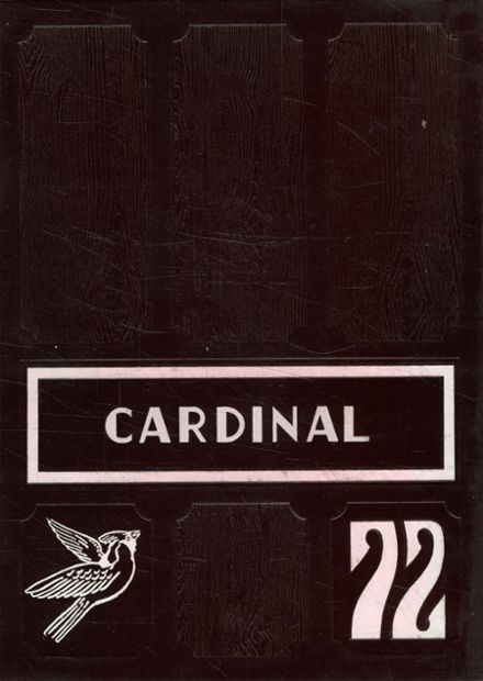 1972 Savoy High School Yearbook Cover
