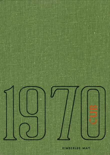 1970 Brownfield High School Yearbook Cover