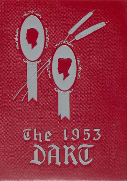 1953 Ashtabula High School Yearbook Cover