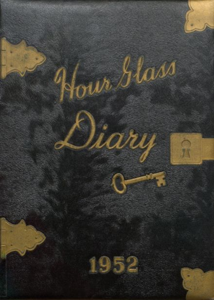 1952 Anniston High School Yearbook Cover