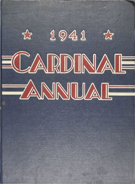 1941 South Division High School Yearbook Cover