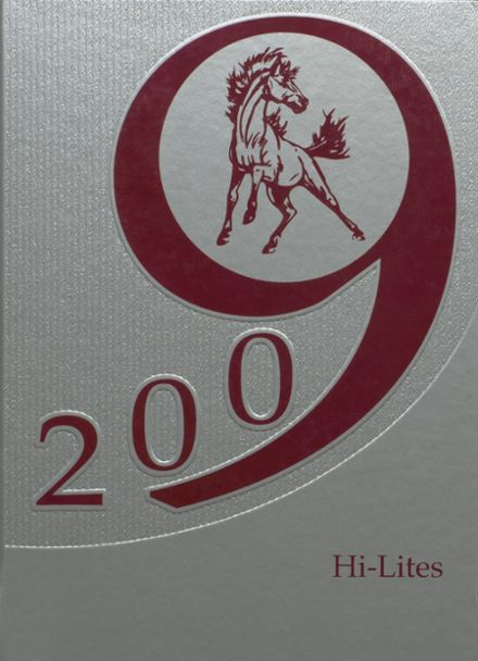 2009 Unity High School Yearbook Cover