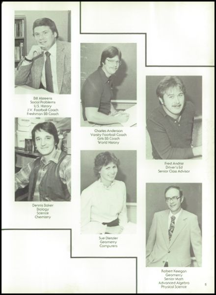 1984 Rib Lake High School Yearbook Page 9