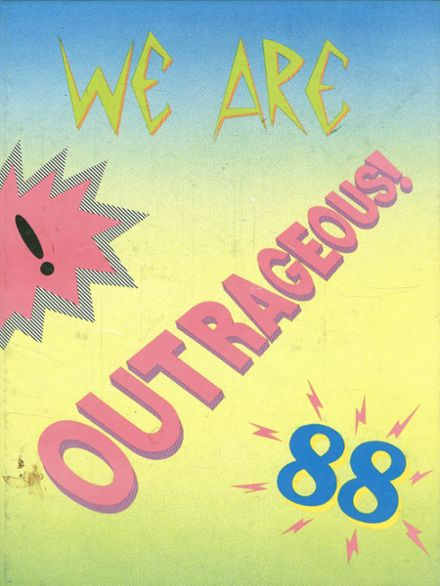 1988 Royal High School Yearbook Cover