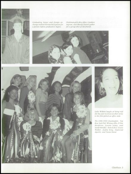 1999 Friona High School Yearbook Page 7