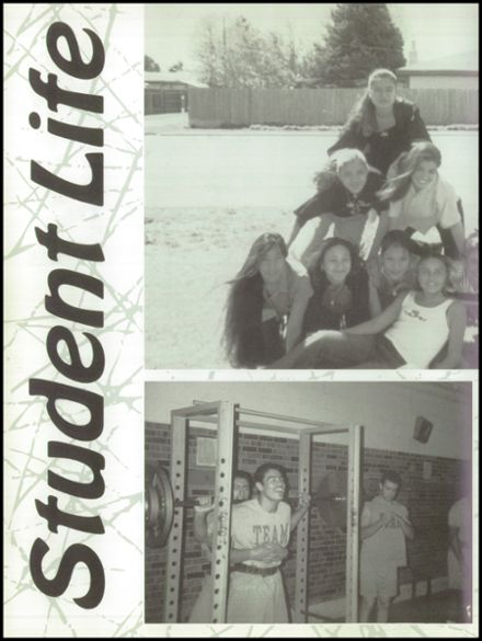 1999 Friona High School Yearbook Page 8