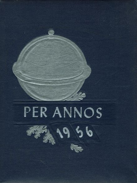 1956 Luzerne High School Yearbook Cover