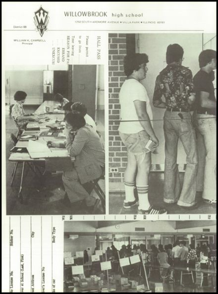 1978 Willowbrook High School Yearbook Page 8