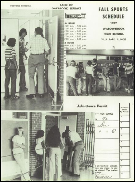 1978 Willowbrook High School Yearbook Page 9