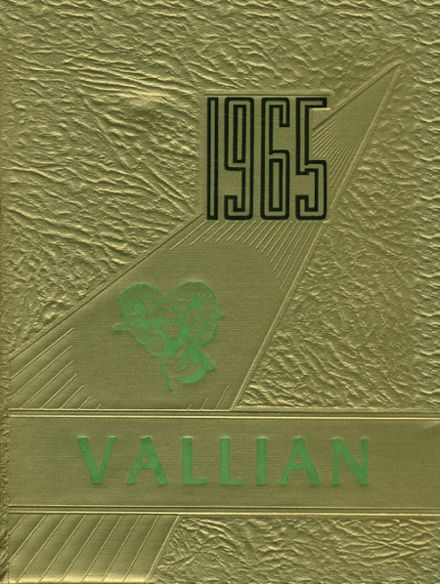 1965 Wyalusing Valley High School Yearbook Cover