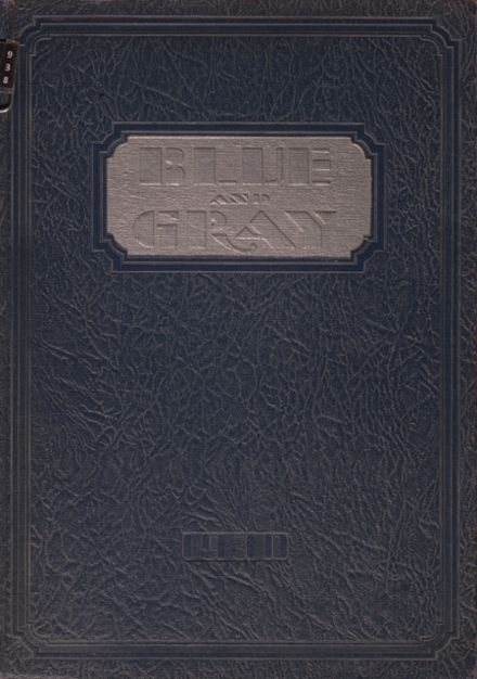 1930 Mountain View High School Yearbook Cover