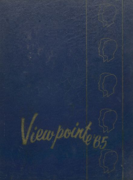 1965 Grosse Pointe High School Yearbook Cover