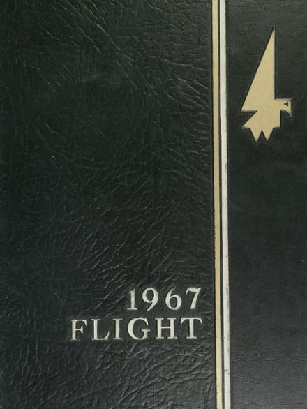 1967 Edsel Ford High School Yearbook Cover