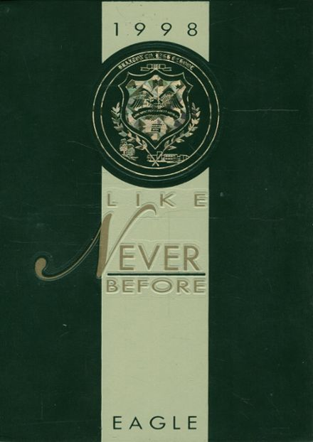 1998 Braxton County High School Yearbook Cover