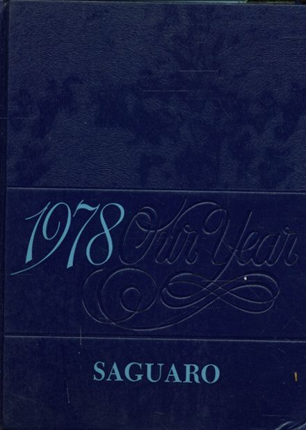 1978 Florence High School Yearbook Cover