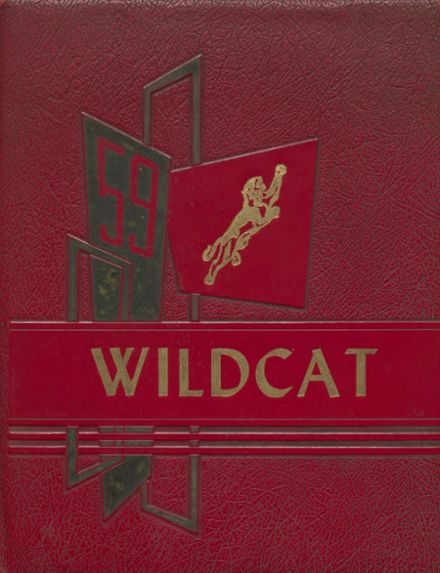 1959 Laney High School Yearbook Cover