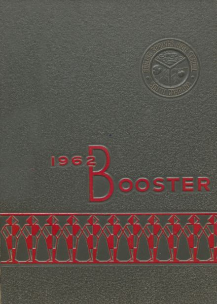 1962 Boiling Springs High School Yearbook Cover