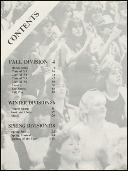1983 Arlington High School Yearbook Page 6