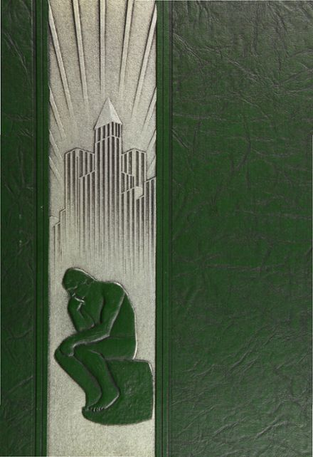 1937 Forest Park High School 406 Yearbook Cover