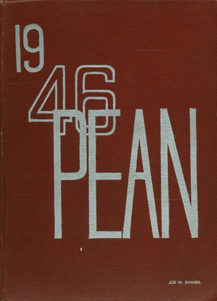 1946 Phillips Exeter Academy Yearbook Cover