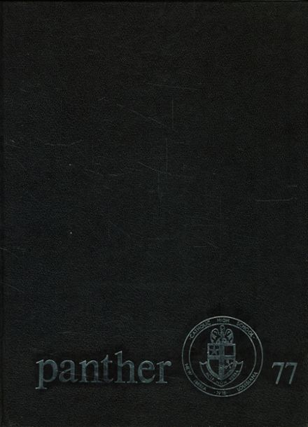 1977 Catholic High School Yearbook Cover