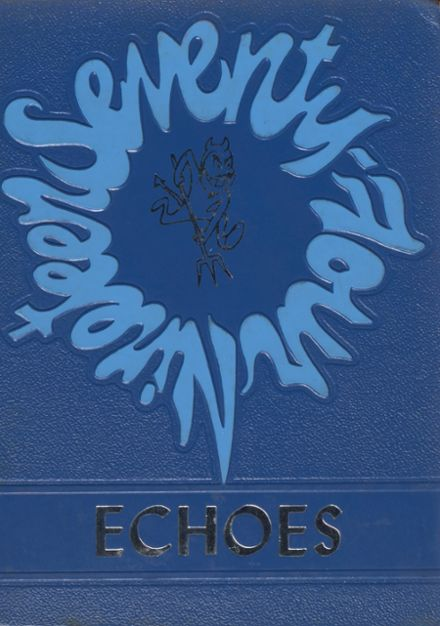 1974 Moravia High School Yearbook Cover