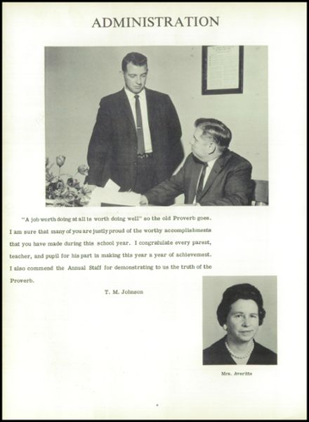1965 Stedman High School Yearbook Page 8