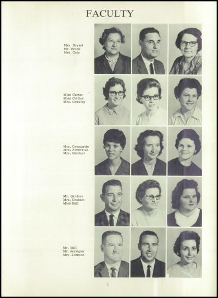 1965 Stedman High School Yearbook Page 9