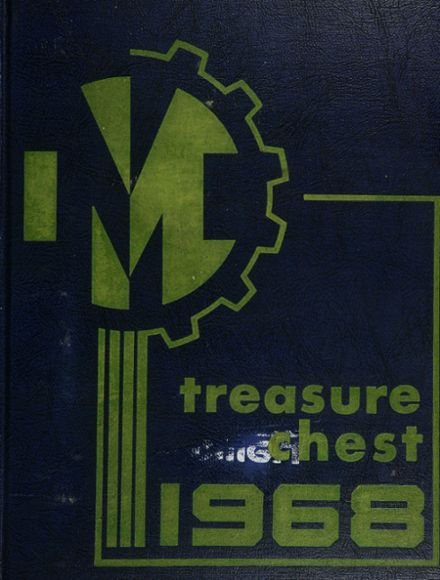 1968 Mergenthaler Vocational Technical High School 410 Yearbook Cover