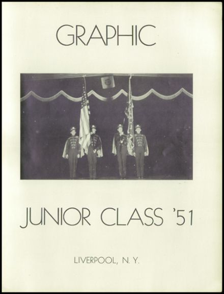 1951 Liverpool High School Yearbook Page 5