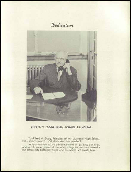 1951 Liverpool High School Yearbook Page 7