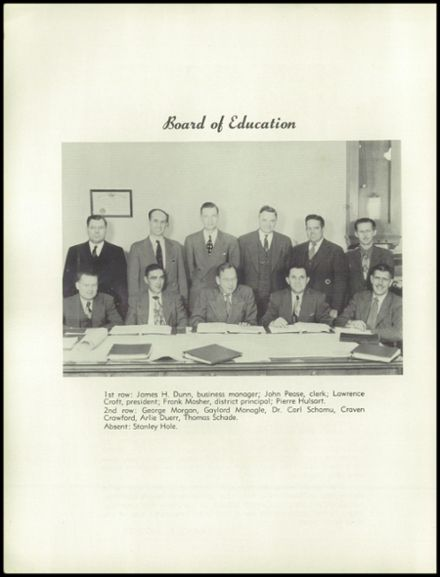 1951 Liverpool High School Yearbook Page 8