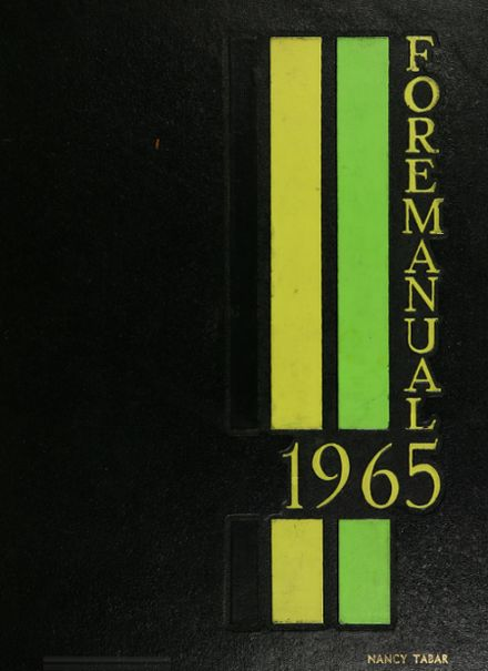 1965 Foreman High School Yearbook Cover