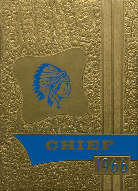 1966 Berryhill High School Yearbook Cover