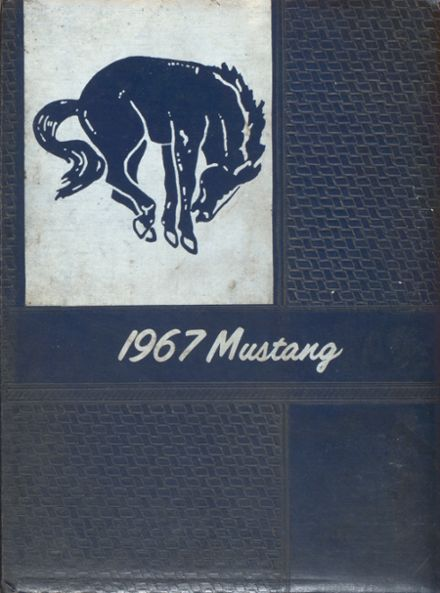 1967 Lone Jack High School Yearbook Cover