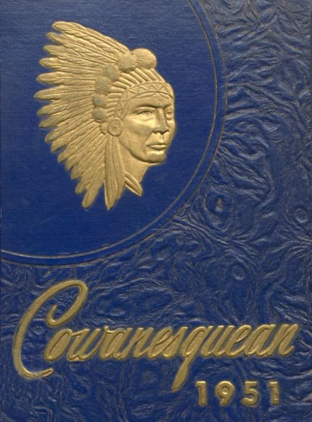 1951 Cowanesque Valley High School Yearbook Cover