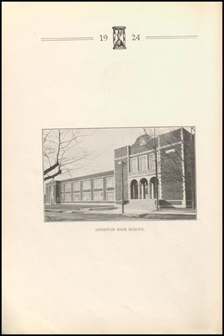 1924 Anniston High School Yearbook Page 6