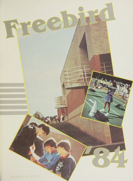 1984 South Lakes High School Yearbook Cover