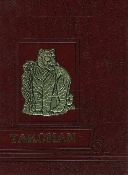 1984 Takoma Academy Yearbook Cover