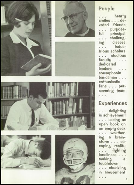 1967 St. Bernard's High School Yearbook Page 9