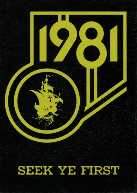 1981 Lansing Christian School Yearbook Cover