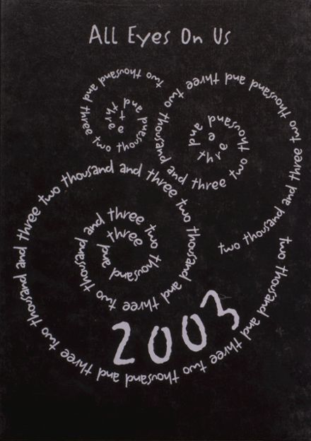 2003 Mediapolis High School Yearbook Cover