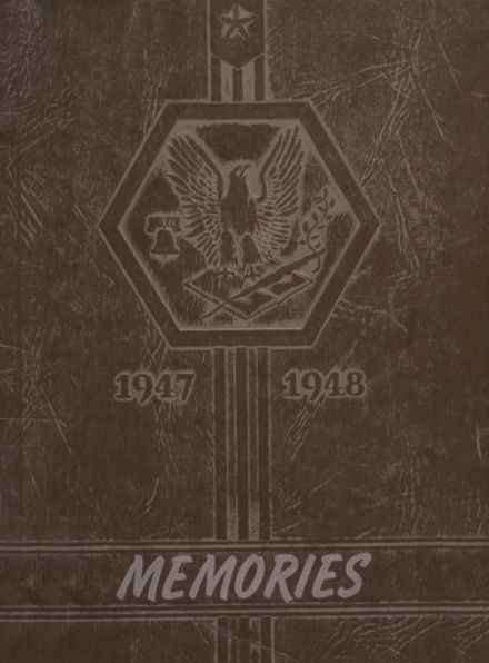 1948 Holmesville High School Yearbook Cover