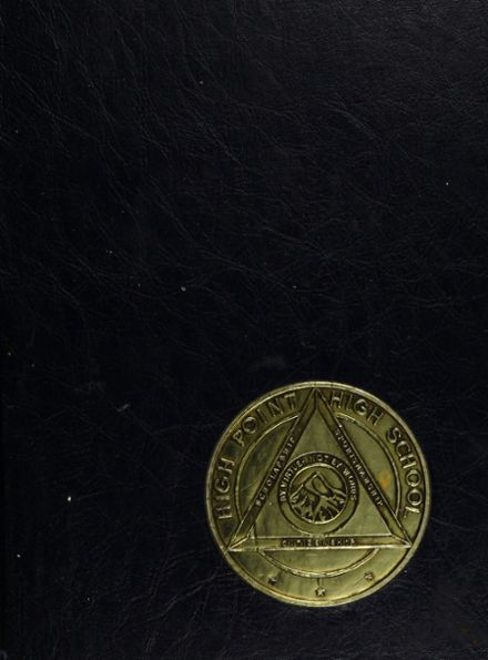 1965 High Point High School Yearbook Cover