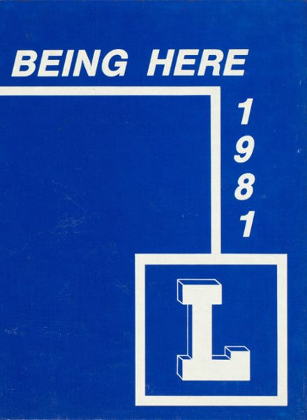 1981 Lakewood High School Yearbook Cover
