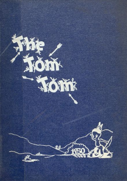 1950 Wicomico High School Yearbook Cover