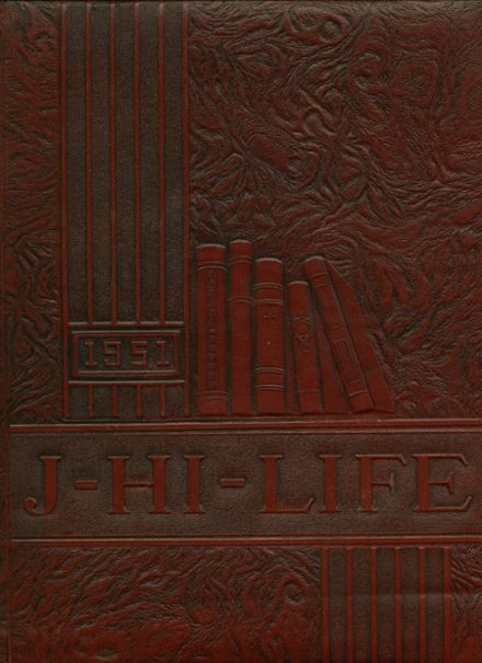 1951 Jefferson Area High School Yearbook Cover