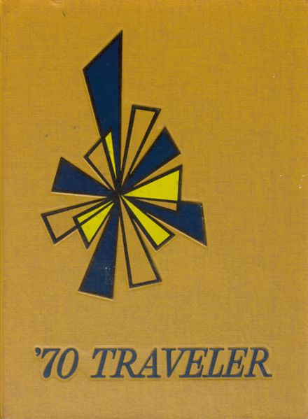1970 Travelers Rest High School Yearbook Cover
