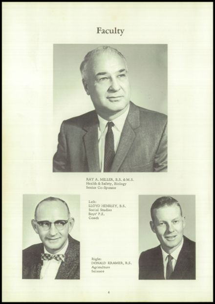 1962 Coalmont High School Yearbook Page 8