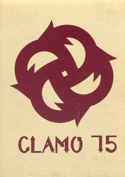 1975 Clayton High School Yearbook Cover